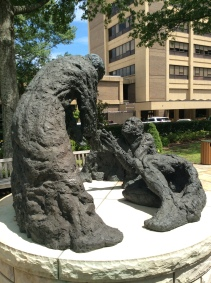 Located in the healing garden of Baptist Health, Little Rock, AR.